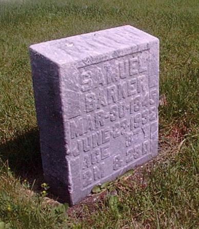 Samuel Barker's Grave