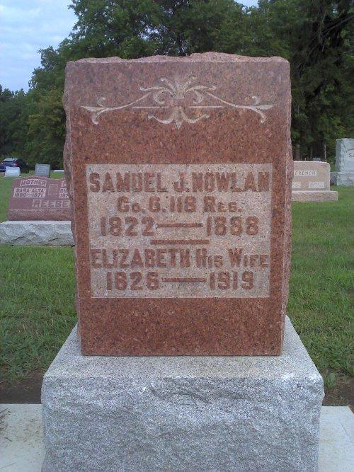 Samuel J. Nowlan & Elizabeth Dennison