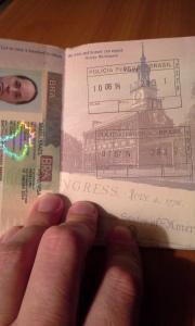 Passport Stamped