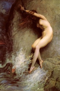 Andromeda by Paul Gustave Doré